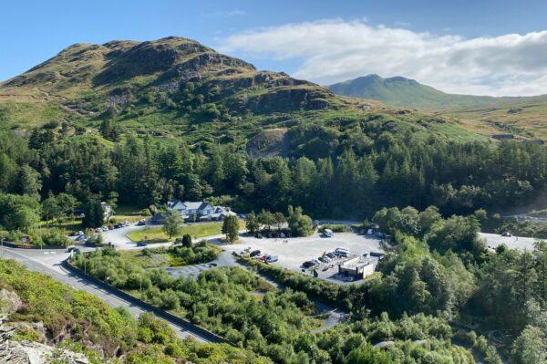 Plas Weunydd Landscape